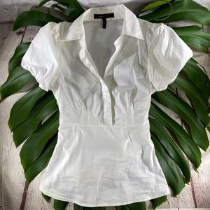 EUC! BCBGMAXAZRIA White Dress Shirt